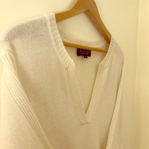 Creamy and deliciously soft cashmere sweater